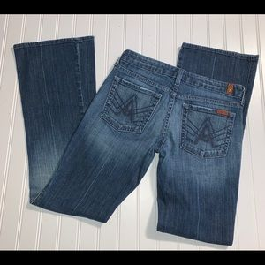 7 for all mankind A Pocket Lexie Petite 27 Jeans